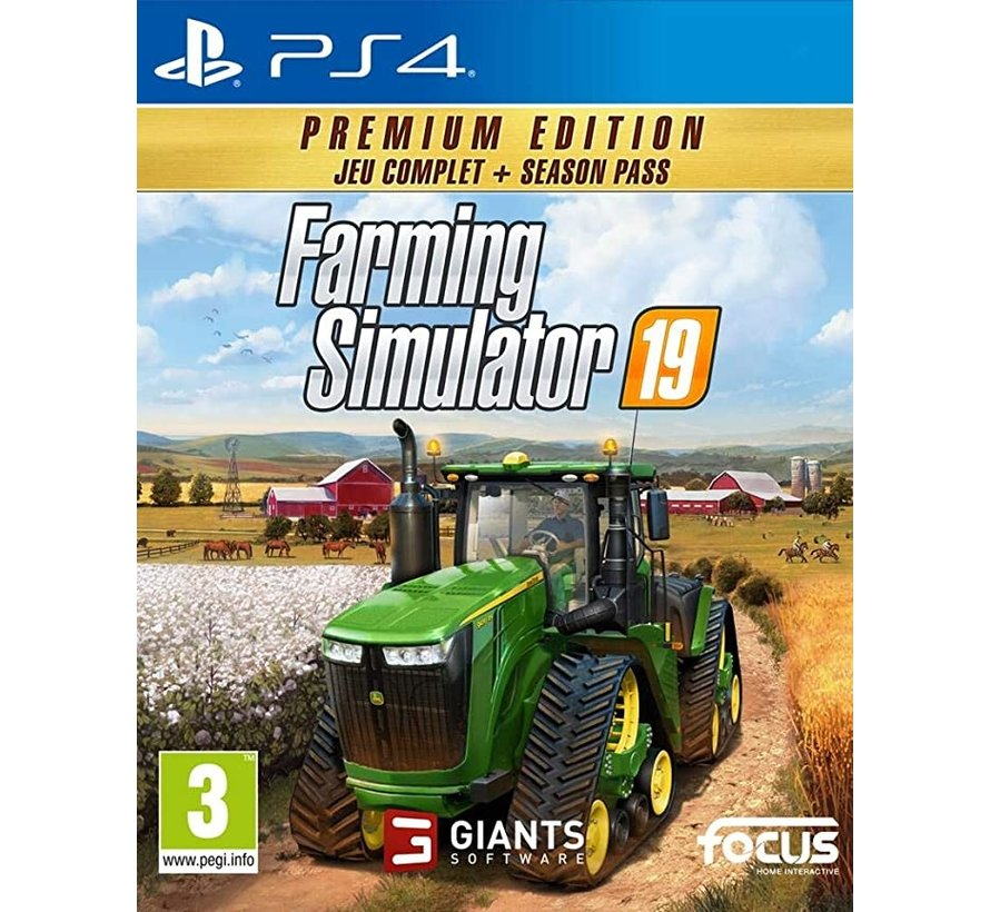 PS4 Farming Simulator 19 - Premium Edition kopen