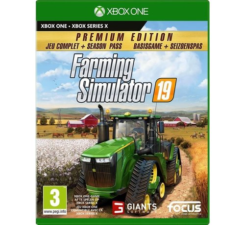 Focus Home Interactive Xbox One/Series X Farming Simulator 19 - Premium Edition kopen