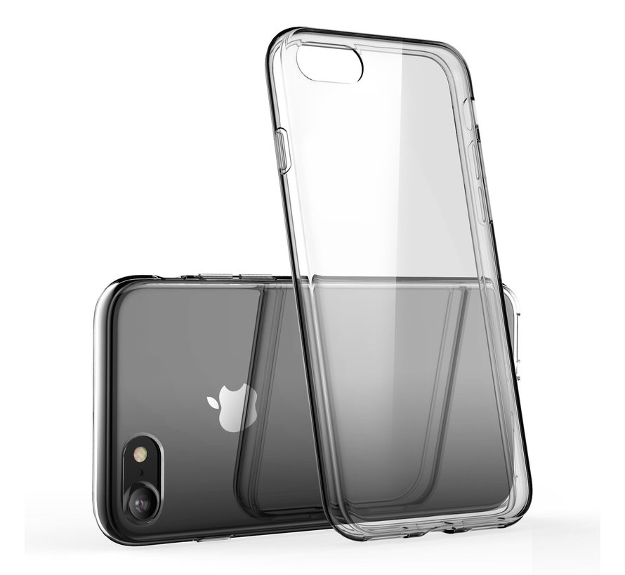 iPhone SE Transparant Back Cover Hoesje - Extra Dun - Siliconen - Cover- Case - Apple iPhone SE
