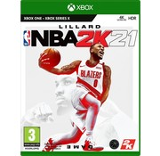 Take Two Xbox One/Series X NBA 2K21