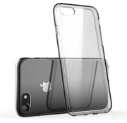 JVS Products iPhone 8 Transparant Back Cover Hoesje - Extra Dun - Siliconen - Cover- Case - Apple iPhone 8