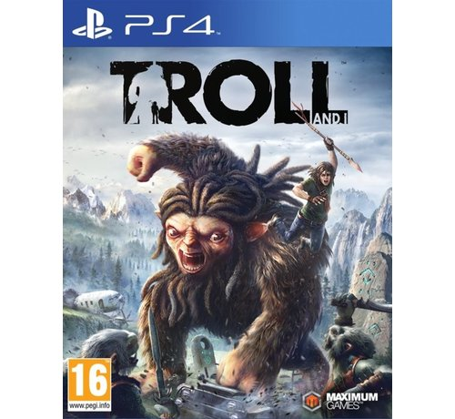 Maximum games PS4 Troll and I kopen