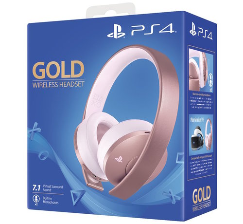 Sony Sony Wireless 7.1 Headset (Rose Gold) - Gold Edition kopen
