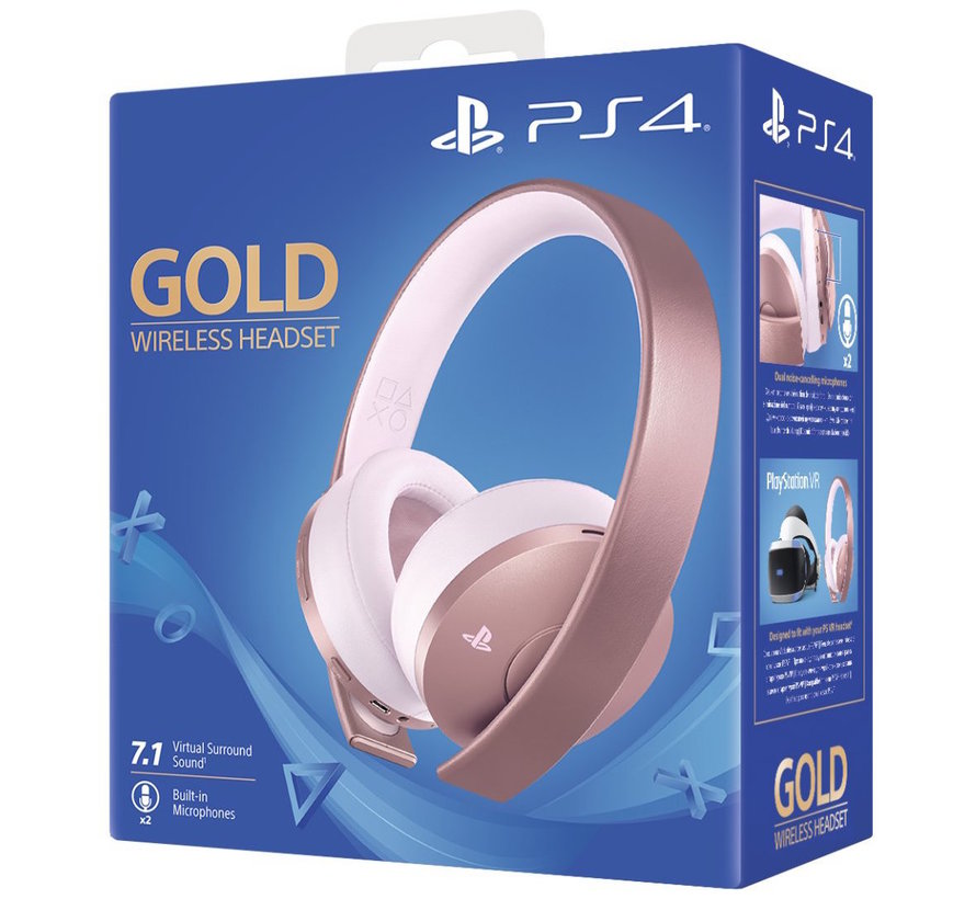 Sony Wireless 7.1 Headset (Rose Gold) - Gold Edition kopen