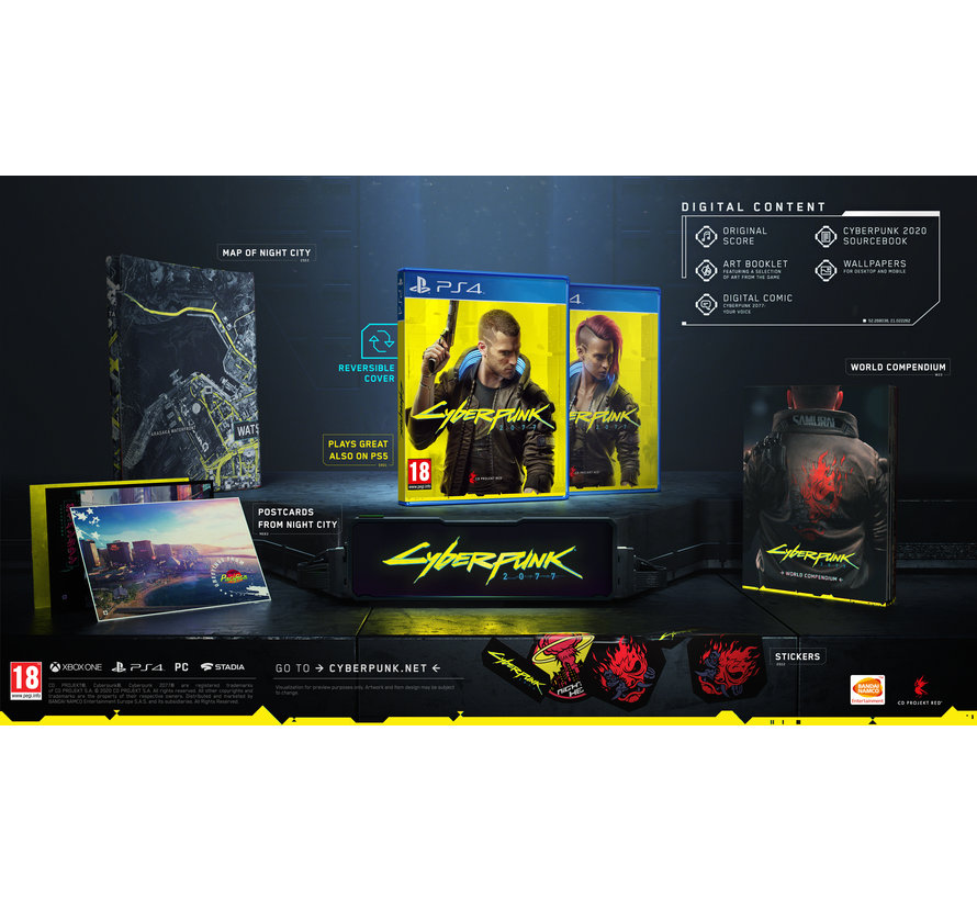 PS4 Cyberpunk 2077 Day One Edition kopen