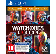 Ubisoft PS4 Watch Dogs: Legion Gold Edition + Steelbook
