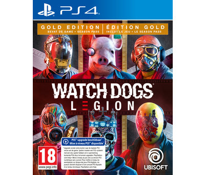 Ubisoft PS4 Watch Dogs: Legion Gold Edition + Steelbook kopen