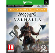Ubisoft Xbox One/Series X Assassin's Creed: Valhalla Gold Edition + Poster