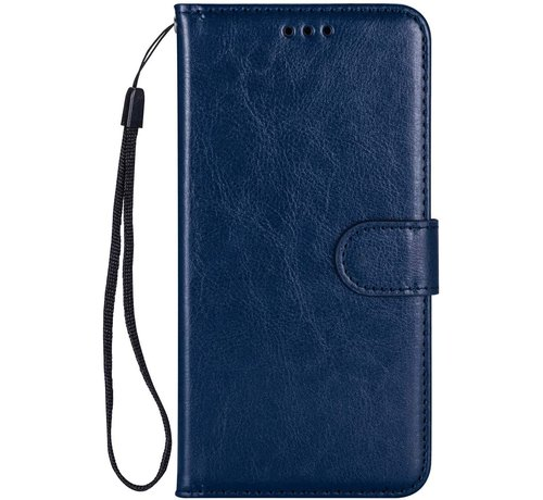 JVS Products Samsung Galaxy A71 Hoesje Book Case Blauw