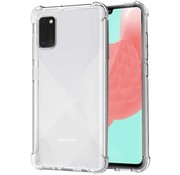 JVS Products Samsung Galaxy A41 Transparant Anti-Shock Back Cover Hoesje - Cover - Siliconen - Schokbestendig - Samsung Galaxy A41