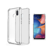 JVS Products Samsung A20E Hoesje/cover siliconen extra dun transparant