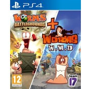 Team 17 PS4 Worms: W.M.D & Battlegrounds Double Pack