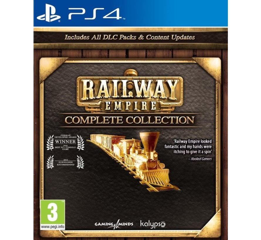 PS4 Railway Empire Complete Collection kopen