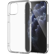 JVS Products iPhone 12 mini hoesje/cover siliconen extra dun transparant