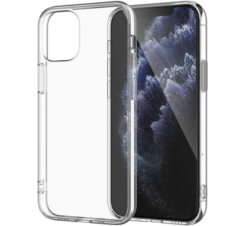 JVS Products iPhone 12 mini hoesje/cover siliconen extra dun transparant kopen