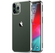 JVS Products iPhone 12 Pro Max hoesje/cover siliconen extra dun transparant