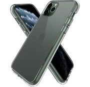 JVS Products iPhone 11 Pro Max Transparant Back Cover Hoesje - Extra Dun - Siliconen - Cover- Case - Apple iPhone 11 Pro Max