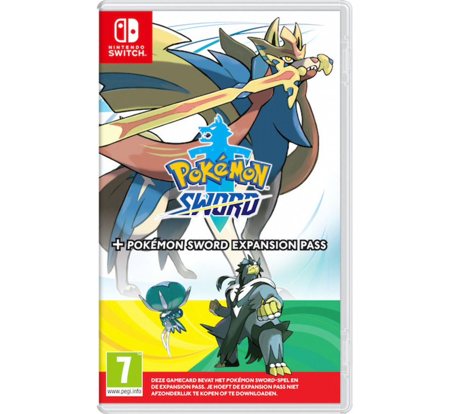Nintendo Switch Pokemon Sword + Expansion Pass kopen