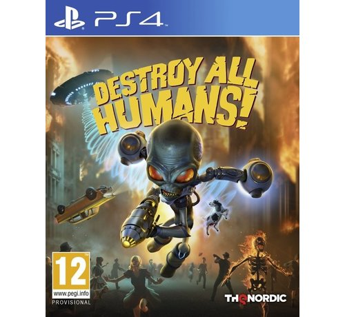 Thq Nordic PS4 Destroy All Humans