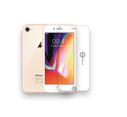 JVS Products iPhone 8 Tempered Glass Screenprotector Protection Kit kopen