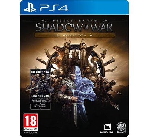 Warner PS4 Middle-Earth: Shadow of War Gold Edition
