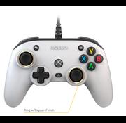 Bigben Interactive Nacon Officiële Xbox Series X Pro Compact Controller Bedraad- Wit