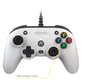 Nacon Officiële Xbox Series X Pro Compact Controller Bedraad- Wit kopen
