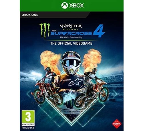 Milestone Xbox One Monster Energy Supercross 4 kopen