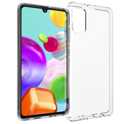 JVS Products Samsung Galaxy A41 hoesje siliconen extra dun transparant hoes cover case