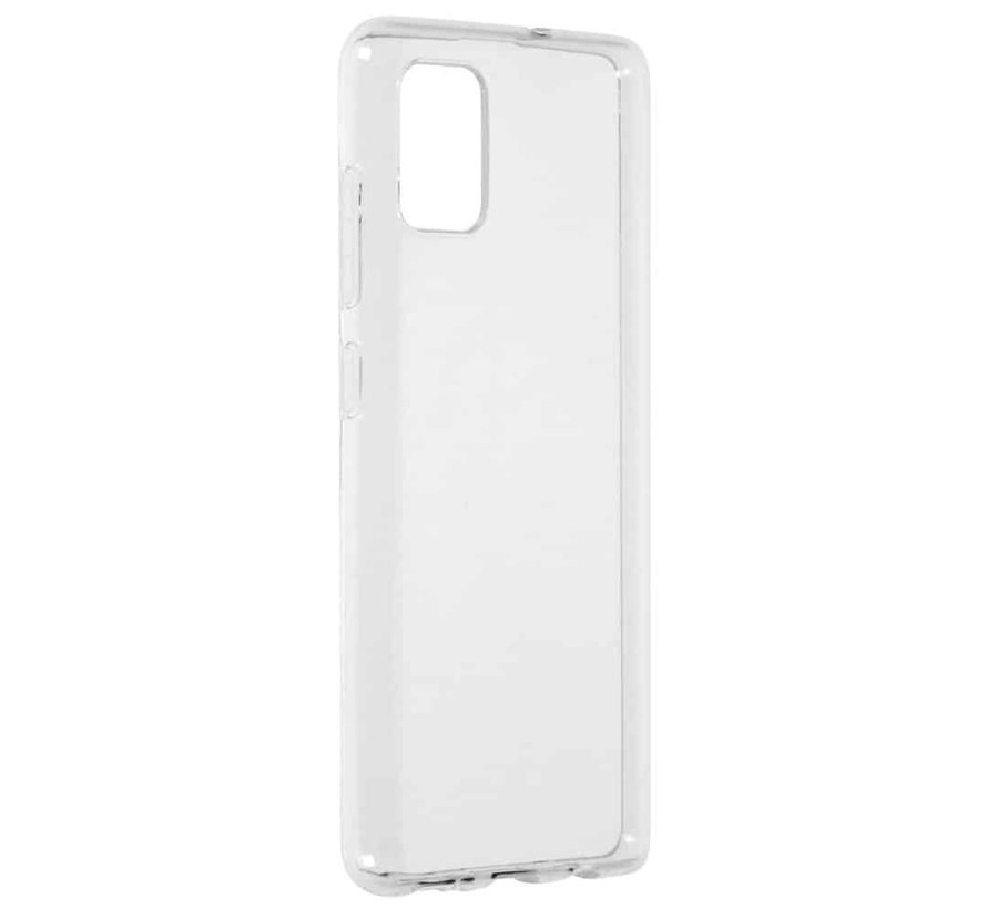 Samsung Galaxy A51 Transparant Back Cover Hoesje - Extra Dun - Siliconen - Cover- Case - Samsung Galaxy A51