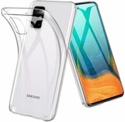 JVS Products Samsung Galaxy A71 hoesje siliconen extra dun transparant hoes cover case