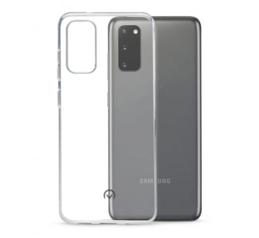 Samsung Galaxy S20 Transparant Back Cover Hoesje - Extra Dun - Siliconen - Cover- Case - Samsung Galaxy S20