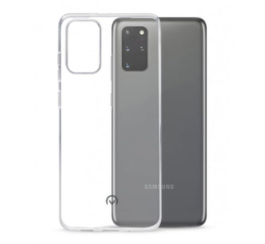 Samsung Galaxy S20 Plus Transparant Back Cover Hoesje - Extra Dun - Siliconen - Cover- Case - Samsung Galaxy S20 Plus