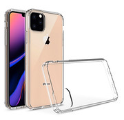 JVS Products iPhone 11 Pro Transparant Anti-Shock Back Cover Hoesje - Cover - Siliconen - Schokbestendig - Apple iPhone 11 Pro