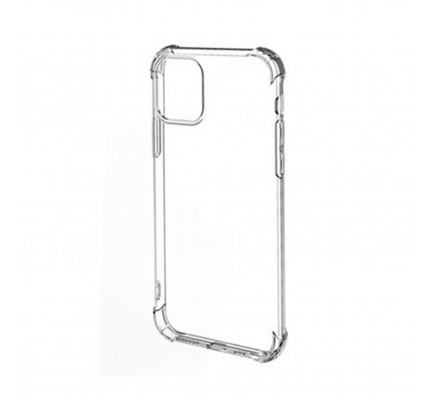 iPhone 12 Transparant Anti-Shock Back Cover Hoesje - Cover - Siliconen - Schokbestendig - Apple iPhone 12