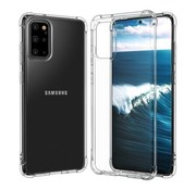 JVS Products Samsung Galaxy S20 Plus Transparant Anti-Shock Back Cover Hoesje - Cover - Siliconen - Schokbestendig - Samsung Galaxy S20 Plus