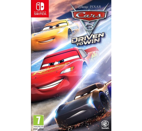 Warner Bros Nintendo Switch Cars 3: Driven to Win (Code In A Box) kopen