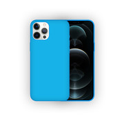 JVS Products iPhone 11 Pro Max Case Hoesje Siliconen Back Cover - Apple iPhone 11 Pro Max - Turquoise