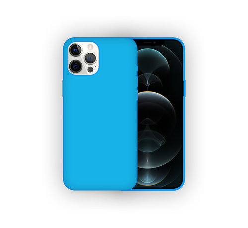 JVS Products iPhone 11 Pro Max Back Cover Hoesje - Siliconen - Case - Backcover - Apple iPhone 11 Pro Max - Turquoise
