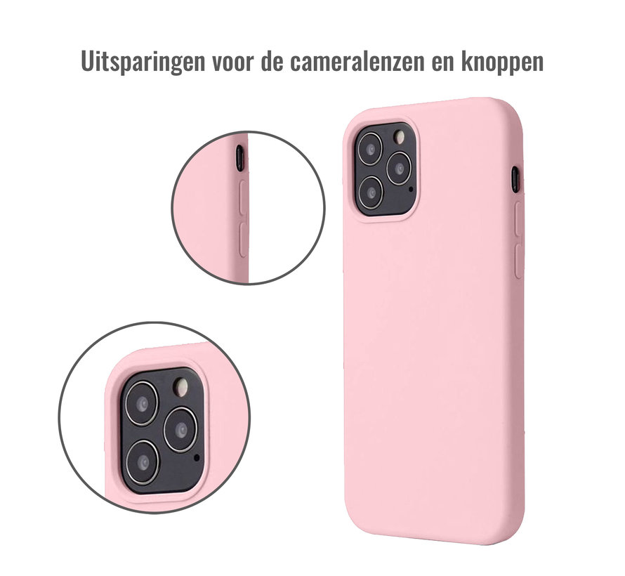 iPhone XR Back Cover Hoesje - Siliconen - Case - Backcover - Apple iPhone XR - Oudroze