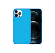 JVS Products iPhone XR Case Hoesje Siliconen Back Cover - Apple iPhone XR - Turquoise