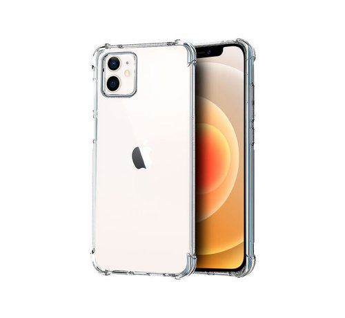 JVS Products iPhone 12 Mini Anti Shock Hoesje Transparant Extra Dun Apple iPhone 12 hoes cover case