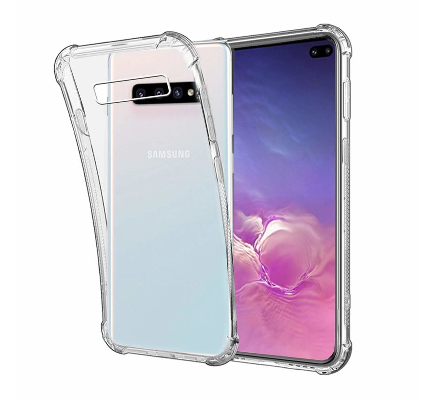 Samsung Galaxy S10 Anti Shock Hoesje - Transparant Extra Dun hoes cover case