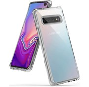 JVS Products Samsung Galaxy S10 Plus Anti Shock Hoesje - Transparant Extra Dun hoes cover case