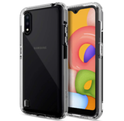 JVS Products Samsung Galaxy A21S Anti Shock Hoesje - Transparant Extra Dun hoes cover case