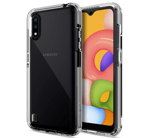 JVS Products Samsung Galaxy A21S Transparant Anti-Shock Back Cover Hoesje - Cover - Siliconen - Schokbestendig - Samsung Galaxy A21S