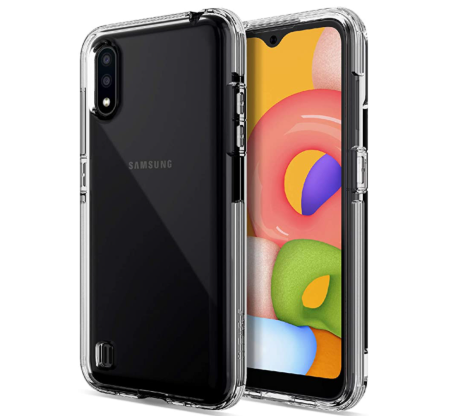 Samsung Galaxy A21S Anti Shock Hoesje - Transparant Extra Dun hoes cover case