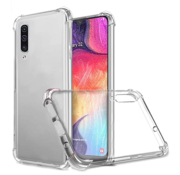 JVS Products Samsung Galaxy A50 Anti Shock Hoesje - Transparant Extra Dun hoes cover case