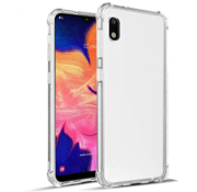 JVS Products Samsung Galaxy A10 Transparant Anti-Shock Back Cover Hoesje - Cover - Siliconen - Schokbestendig - Samsung Galaxy A10