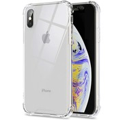 JVS Products iPhone X Anti Shock Hoesje - Apple iPhone X Transparant Extra Dun hoes cover case